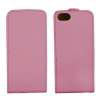 Husa iPhone 5 Flip Case Roz