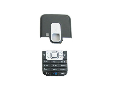 Carcasa Nokia 6120c Kit With Front Cover Without Screen Camera Cover And Complete Keypad Swap (3 Piese)